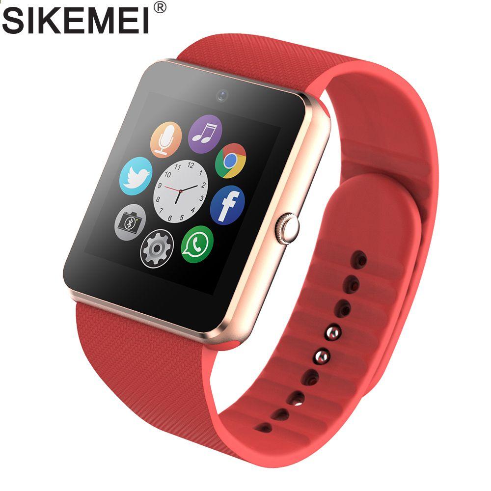 SIKEMEI Smart Watch Bluetooth Smartwatch GT08 Phone Watch