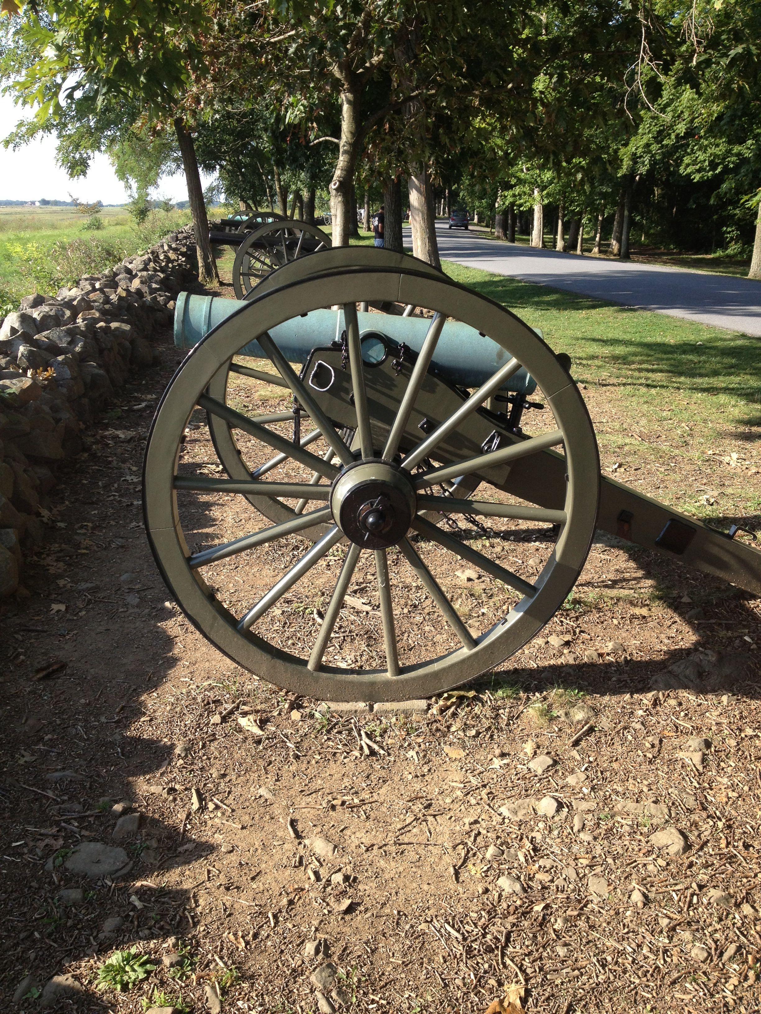 Howitzer at Gettysburg Battlefield | Monuments, Memorials & Museums