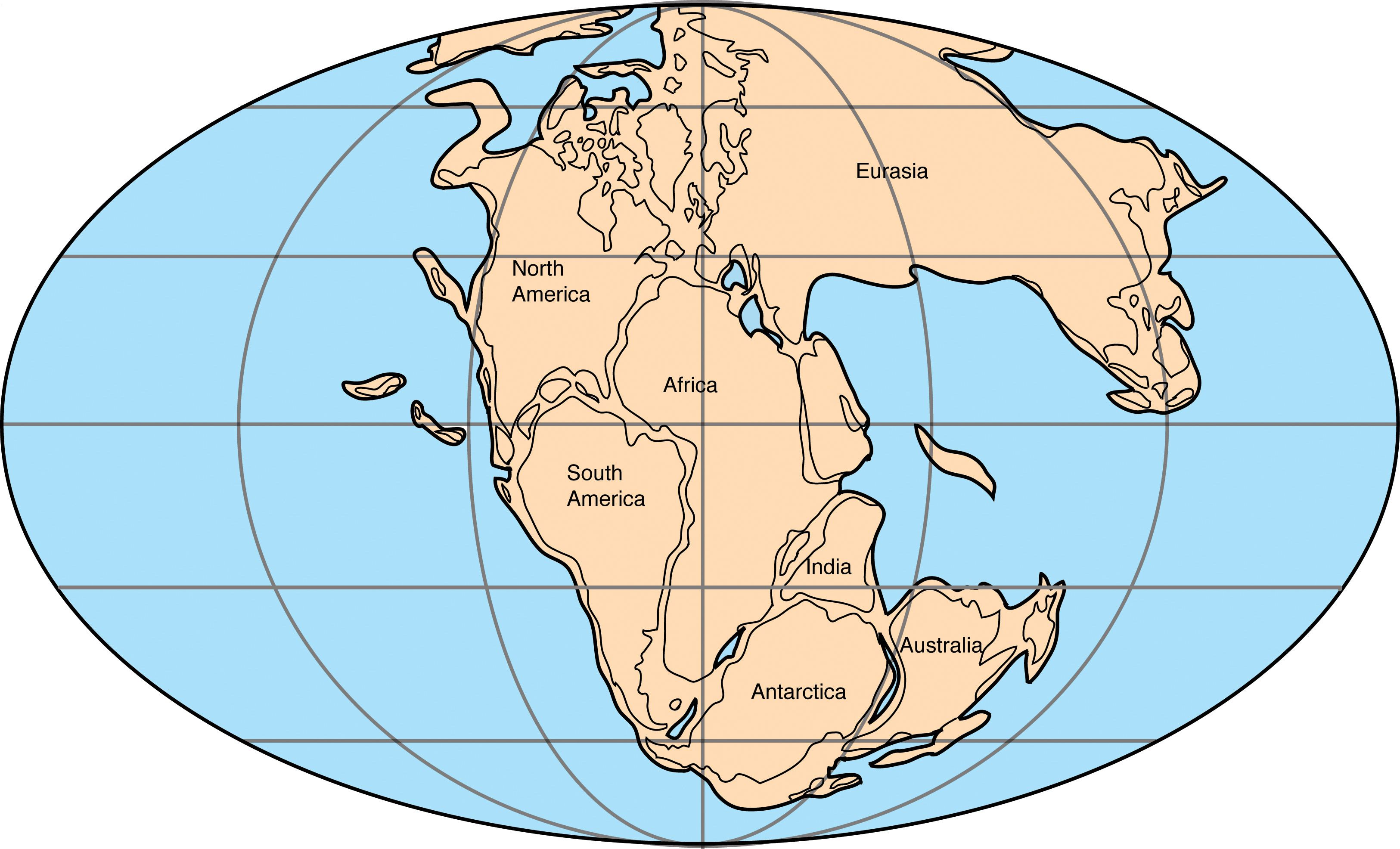 Worksheets Pangea Puzzle Worksheet pangaea entire earth pangea was a supercontinent that existed during the late paleozoic