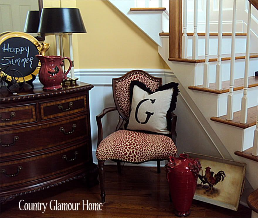 Red Leopard Print Chair Love A Little Touch Of Animal Print