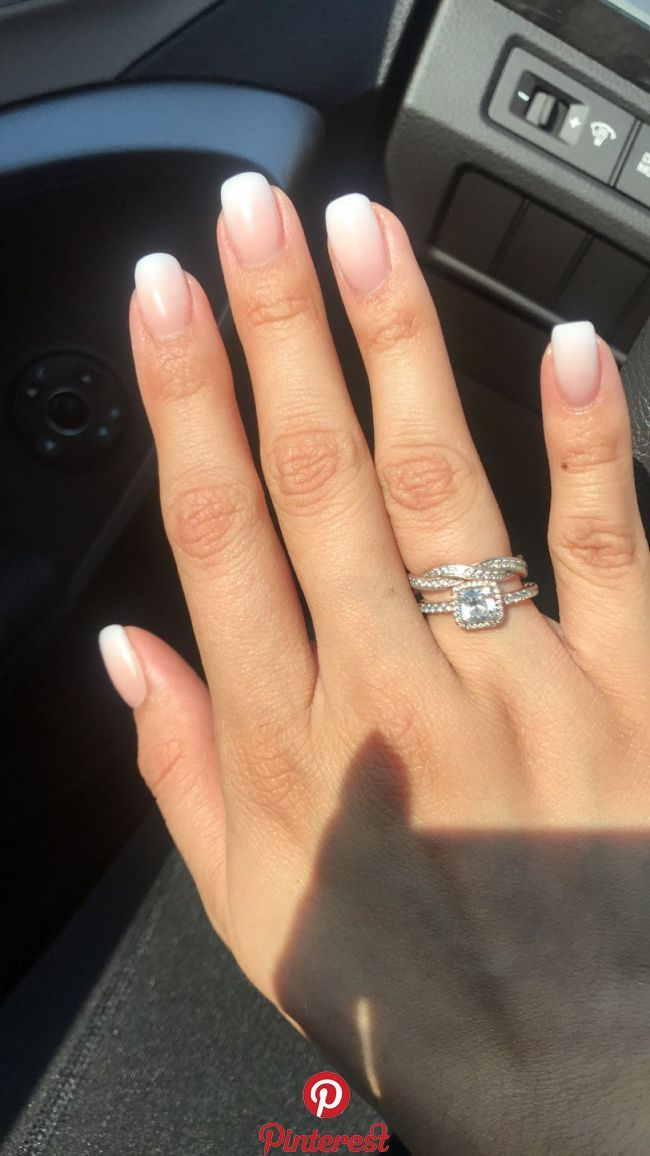 Skin Care Tips For Beautiful Skin French Tip Acrylic Nails French Manicure Short Nails Ombre Acrylic Nails