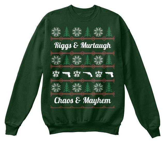 Alien Peace on Earth Ugly Christmas Sweater Mens Sweatshirt