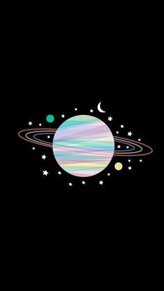 Pin By Maca P G On Ilustraciones Pinterest Planets Pastels And