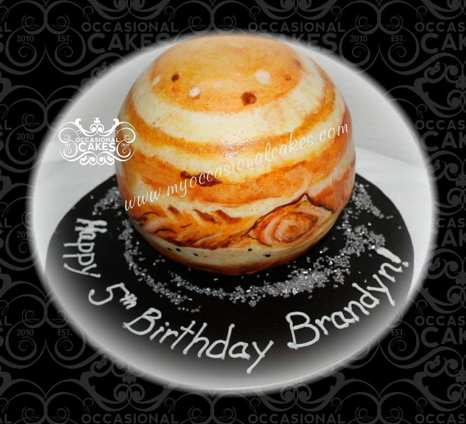 Jupiter cake made by me!
