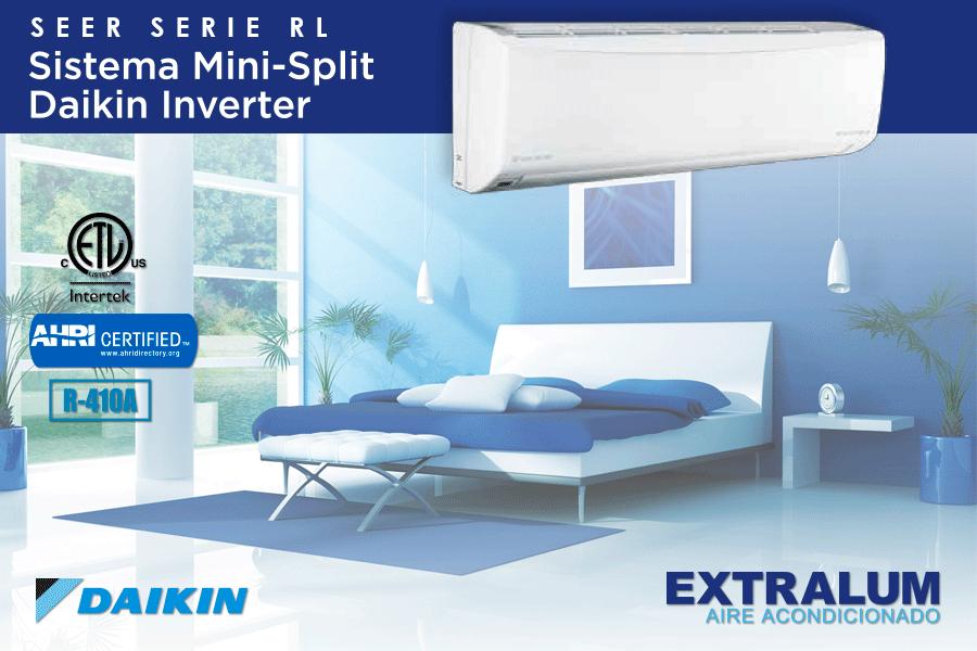 Daikin El aire acondicionado con tecnología Inverter