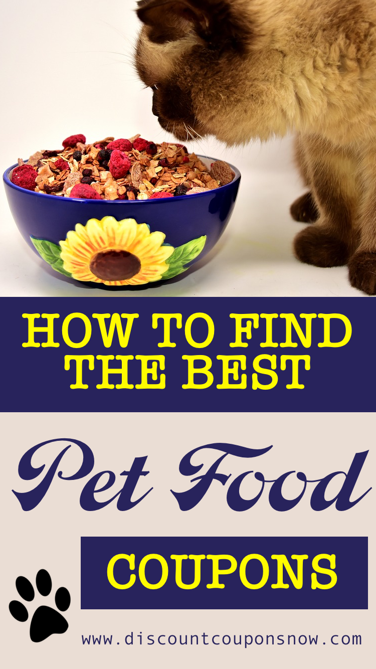 Finding The Right Pet Food Coupons Food Animals Food Coupon Cat Food Coupons