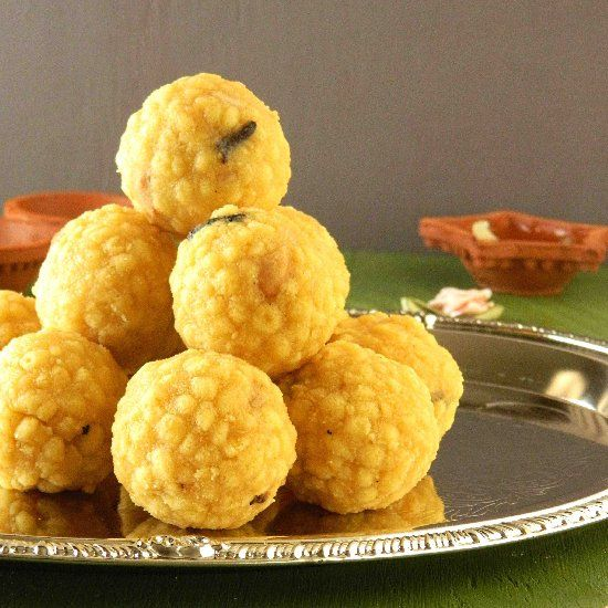 traditional south indian sweet made with chickpea flour