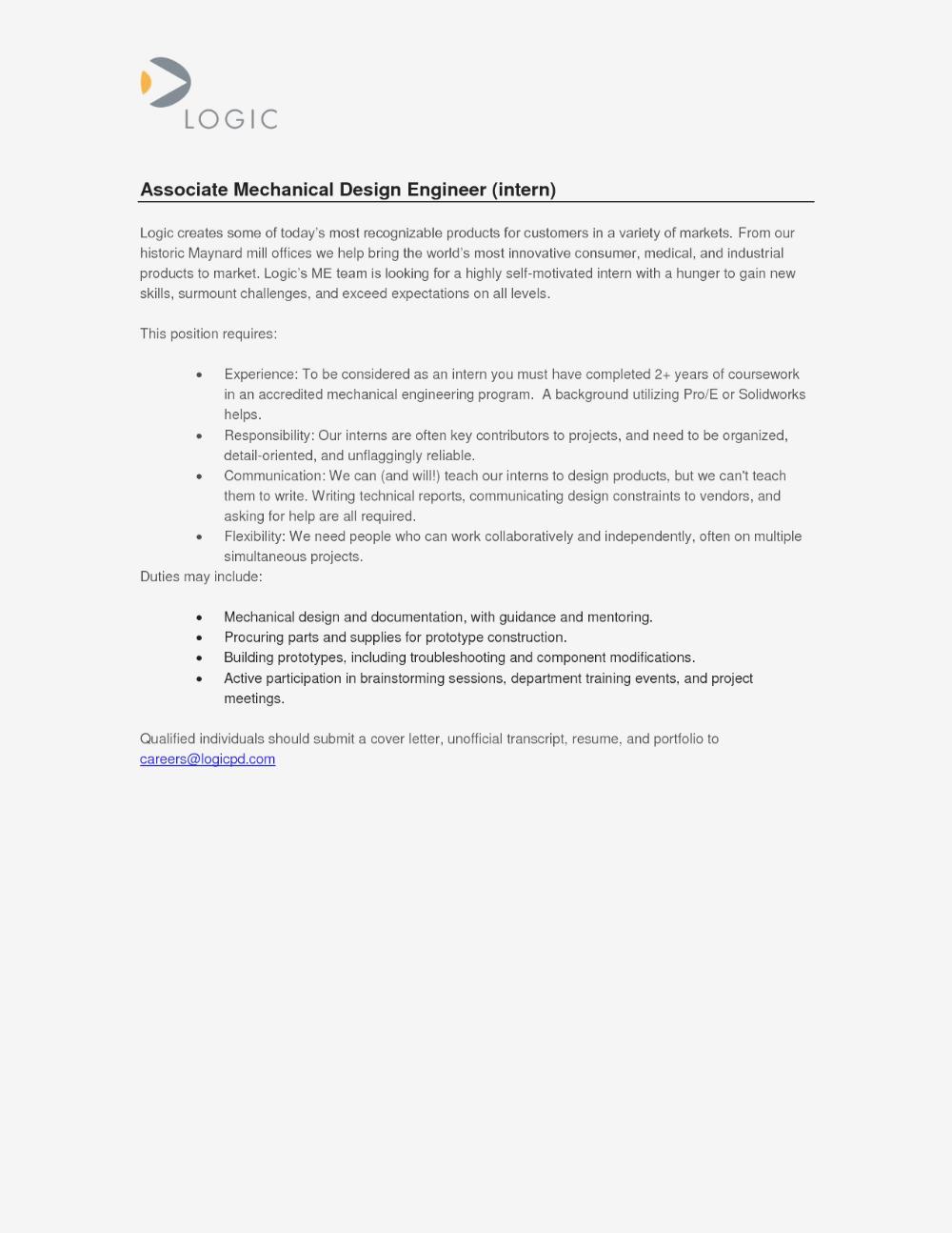 cover letter industrial engineering internship - Orgsan ...