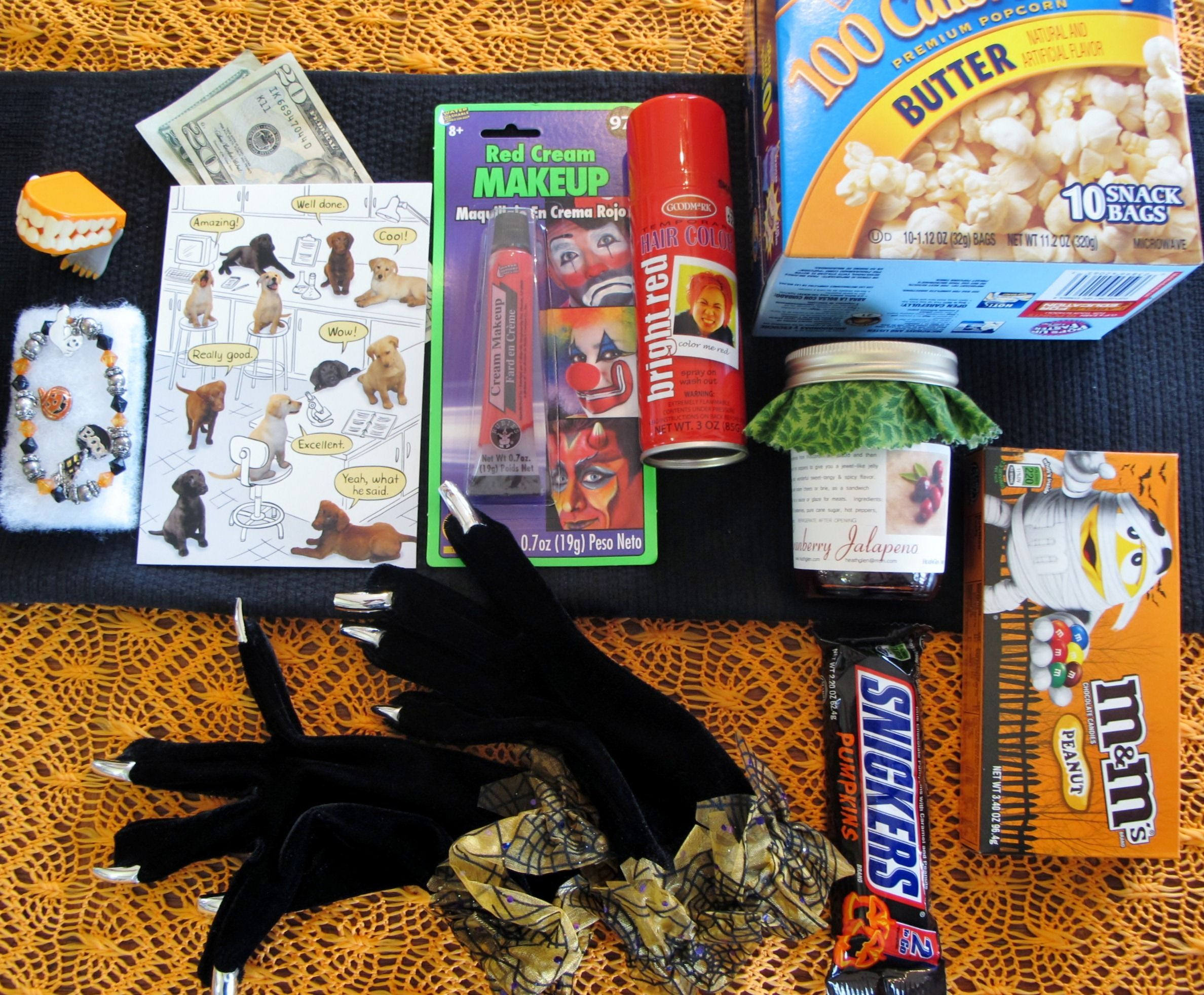 College Care Package for the Girl Late Fall /Halloween