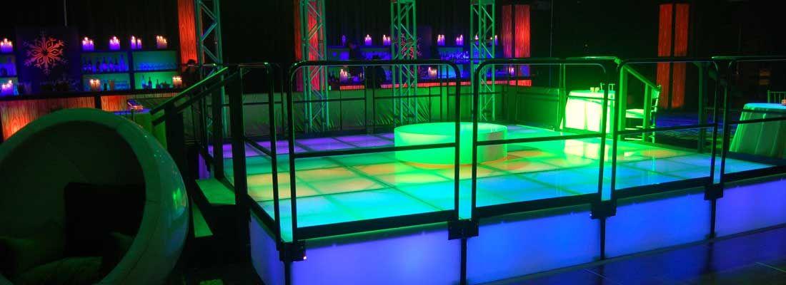 LED Stages Dance floor rental, Led dance, Dance floor