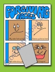 FORGIVENESS: Primary CTR-A, Lesson 40, Primary 2 manual, I Can Forgive Others, Primary Lesson Helps, family home evening, Sunday Savers book...