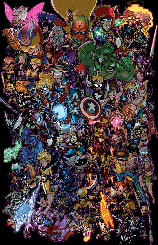 Li'l Avengers by JJKirby on DeviantArt