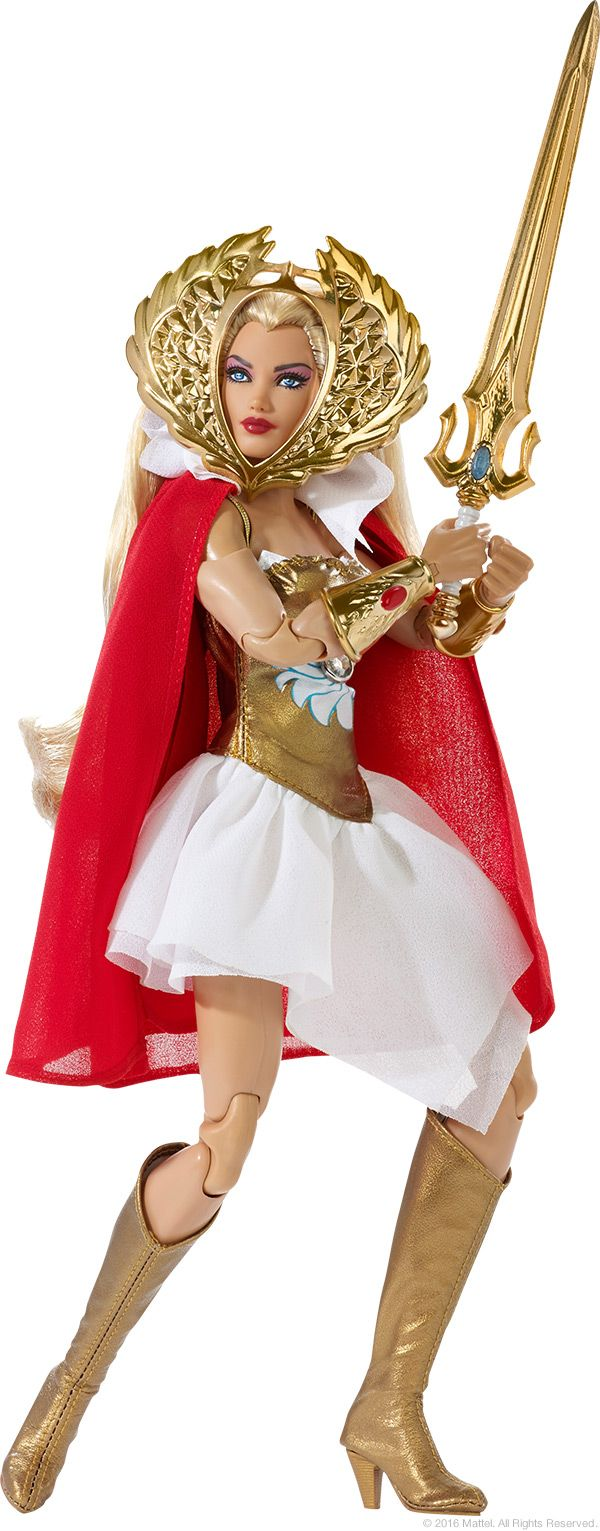 SDCC 2016 Exclusive: She-Ra Barbie by Mattel - He-Man World