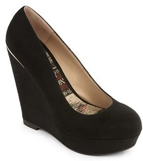 055e861562f2 Olsenboye® Perrin Faux-Suede Wedge Pumps - jcpenney