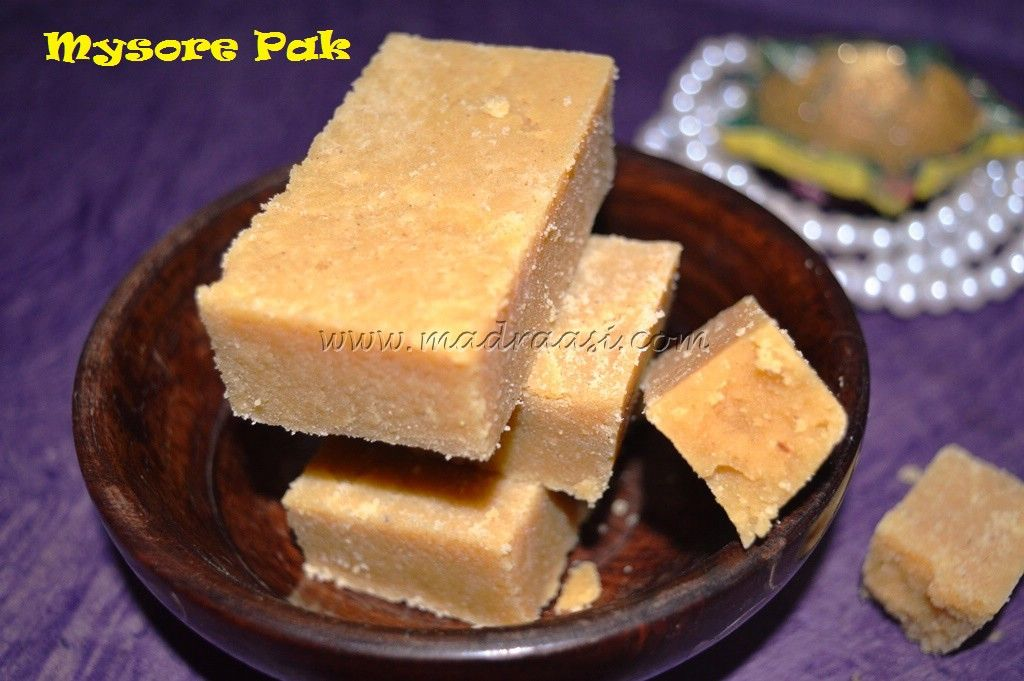 Mysore Pak Recipe / Soft Mysore pak recipe / Nei Mysore pak recipe