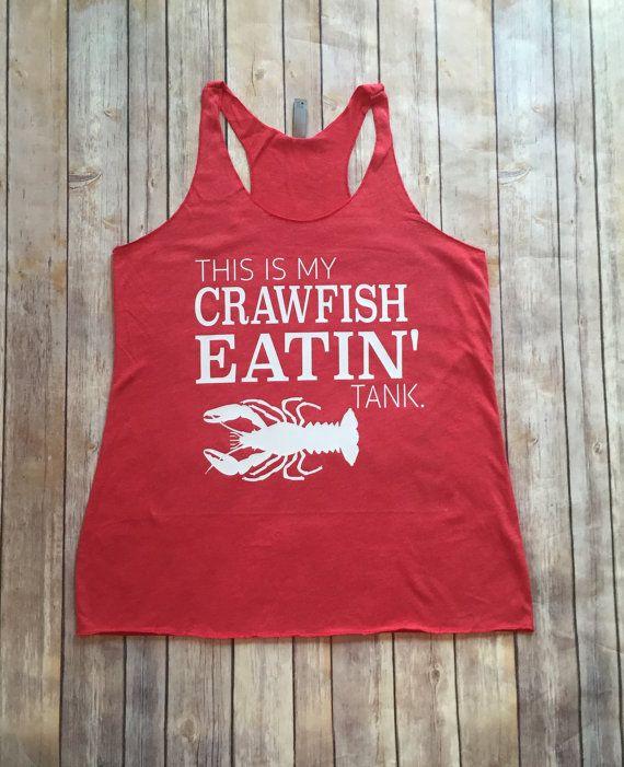 Crawfish Tank Top/ This is my crawfish shirt/ by LeLeandTee