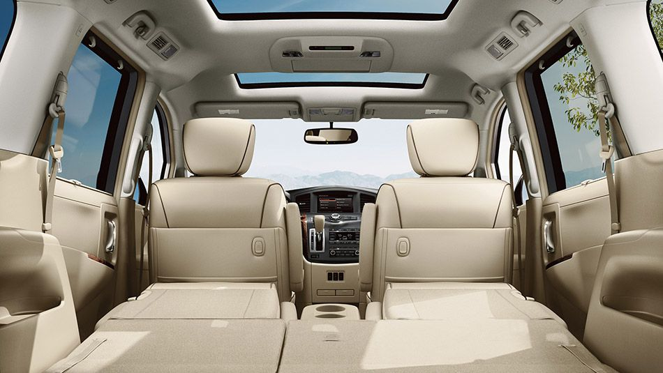 Nissan Quest Le Shown In Beige Leather