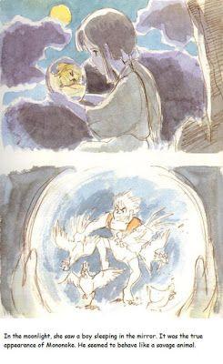 Ghibli Blog - Studio Ghibli, Animation and the Movies: Mononoke Hime (1980) - The Original Miyazaki Book