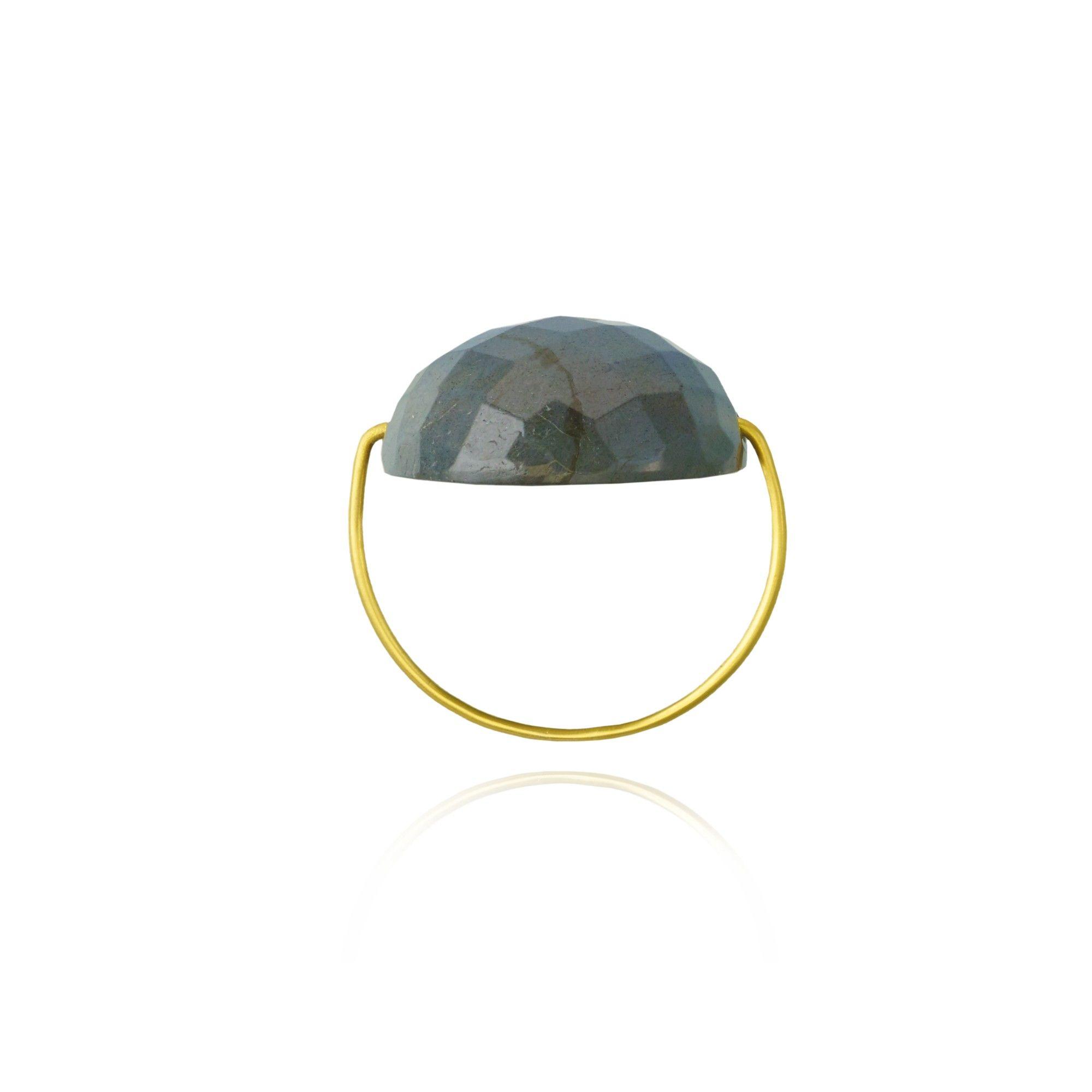 Hematite Wire Ring