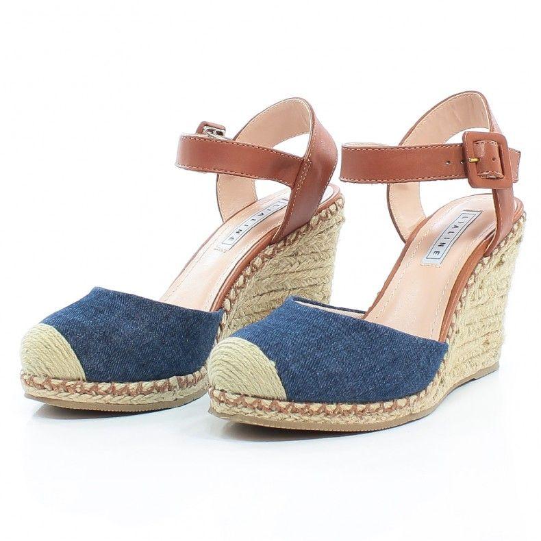 c618101837 Anabela Lia Line Salto Corda 8085 - Jeans - Loucas por Sapatilhas - Lia Line