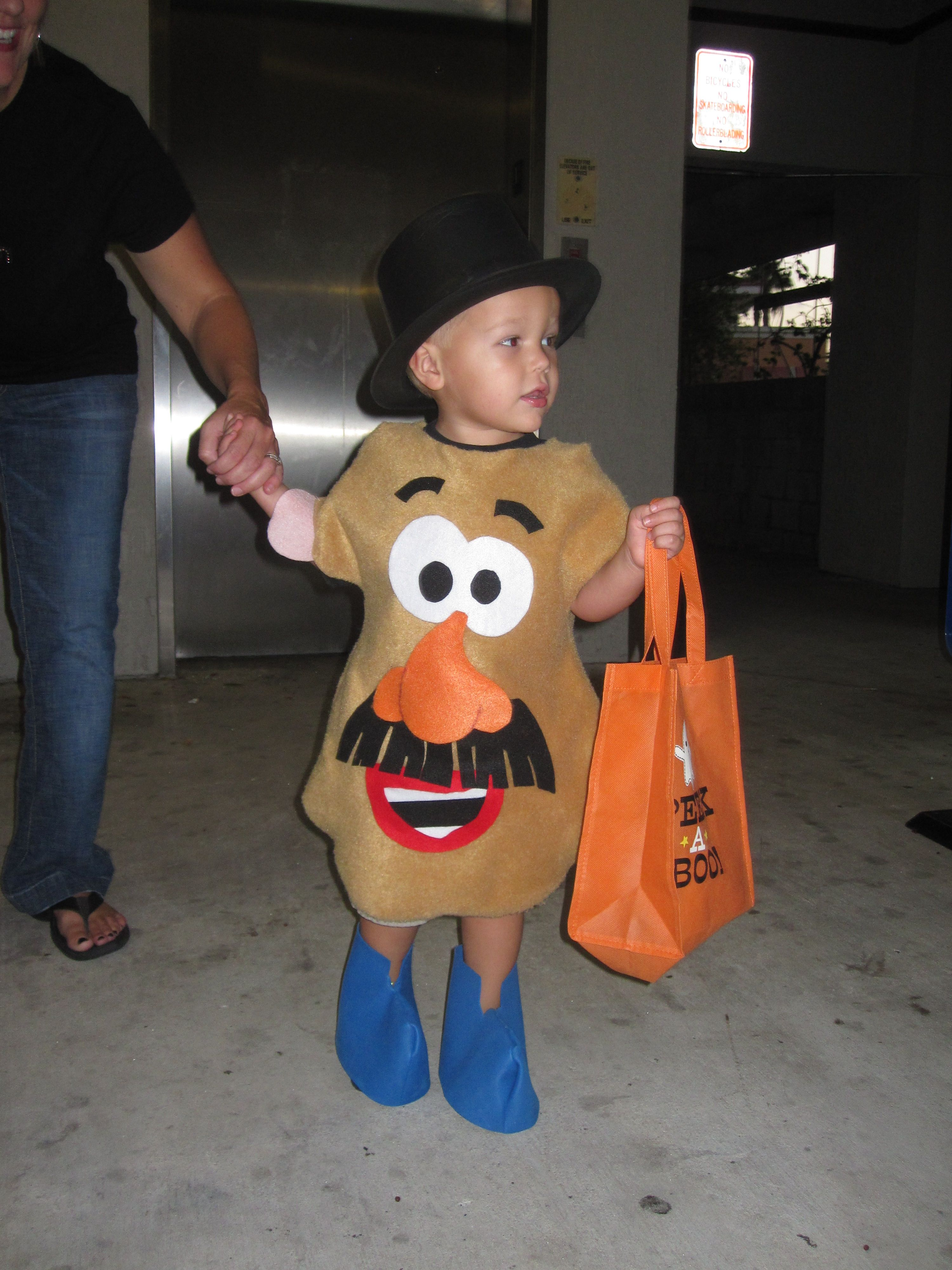 Diy Mr Potato Head Costume Toy Story Costumes Brother