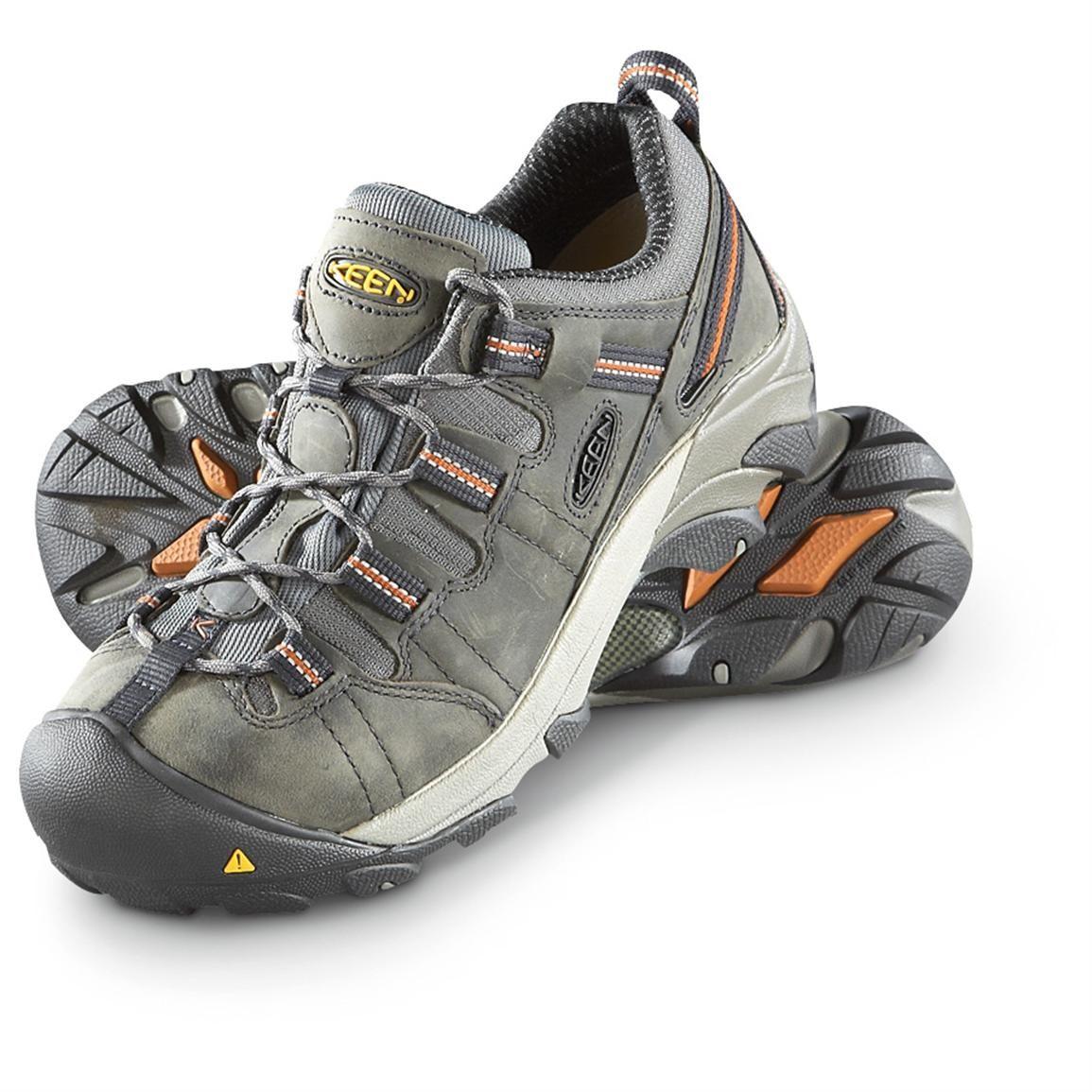 Men s KEEN Utility Detroit Low Work Boots cb0c644bfa