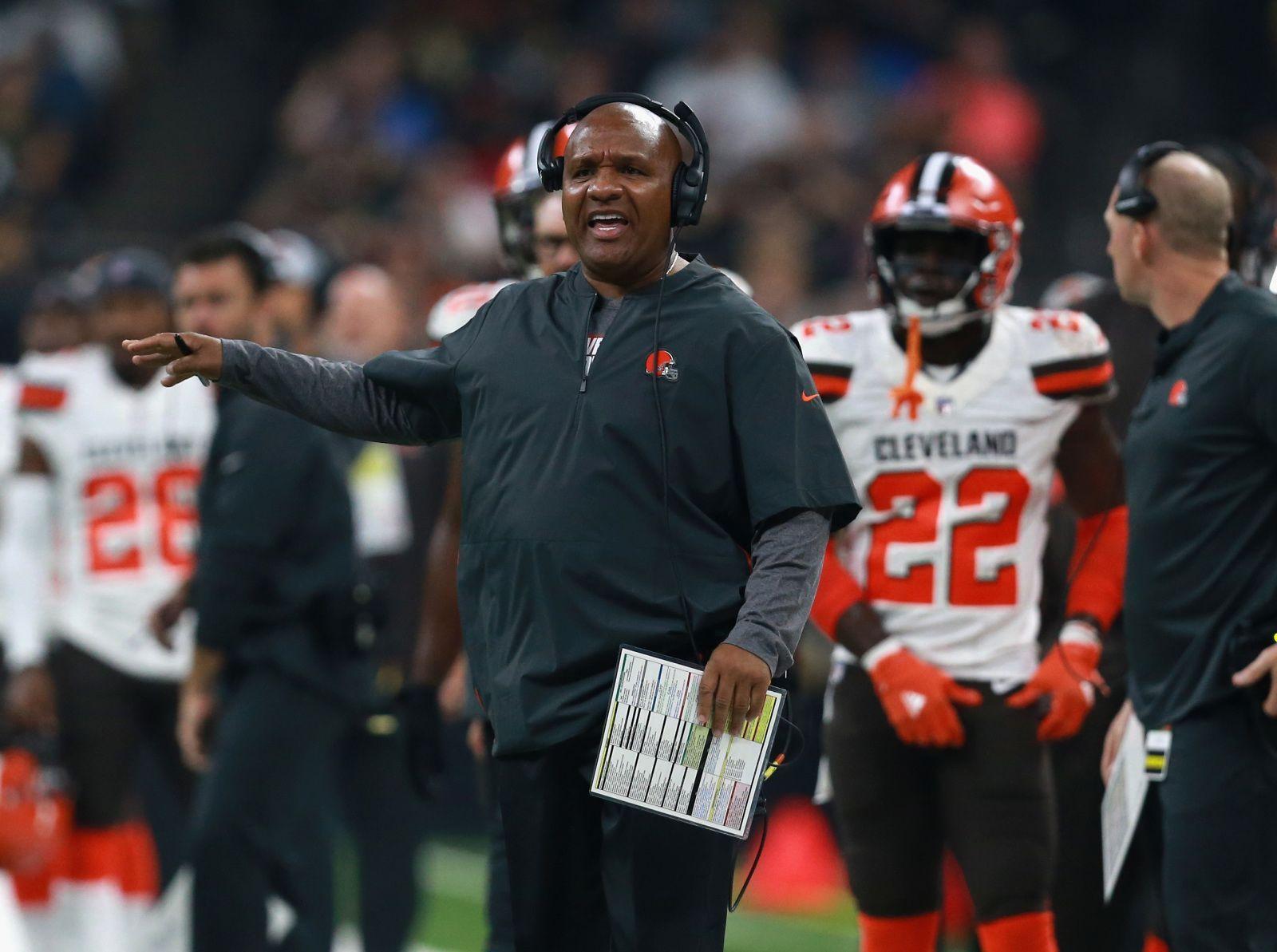 Cleveland browns should hue jacksons job be on the line