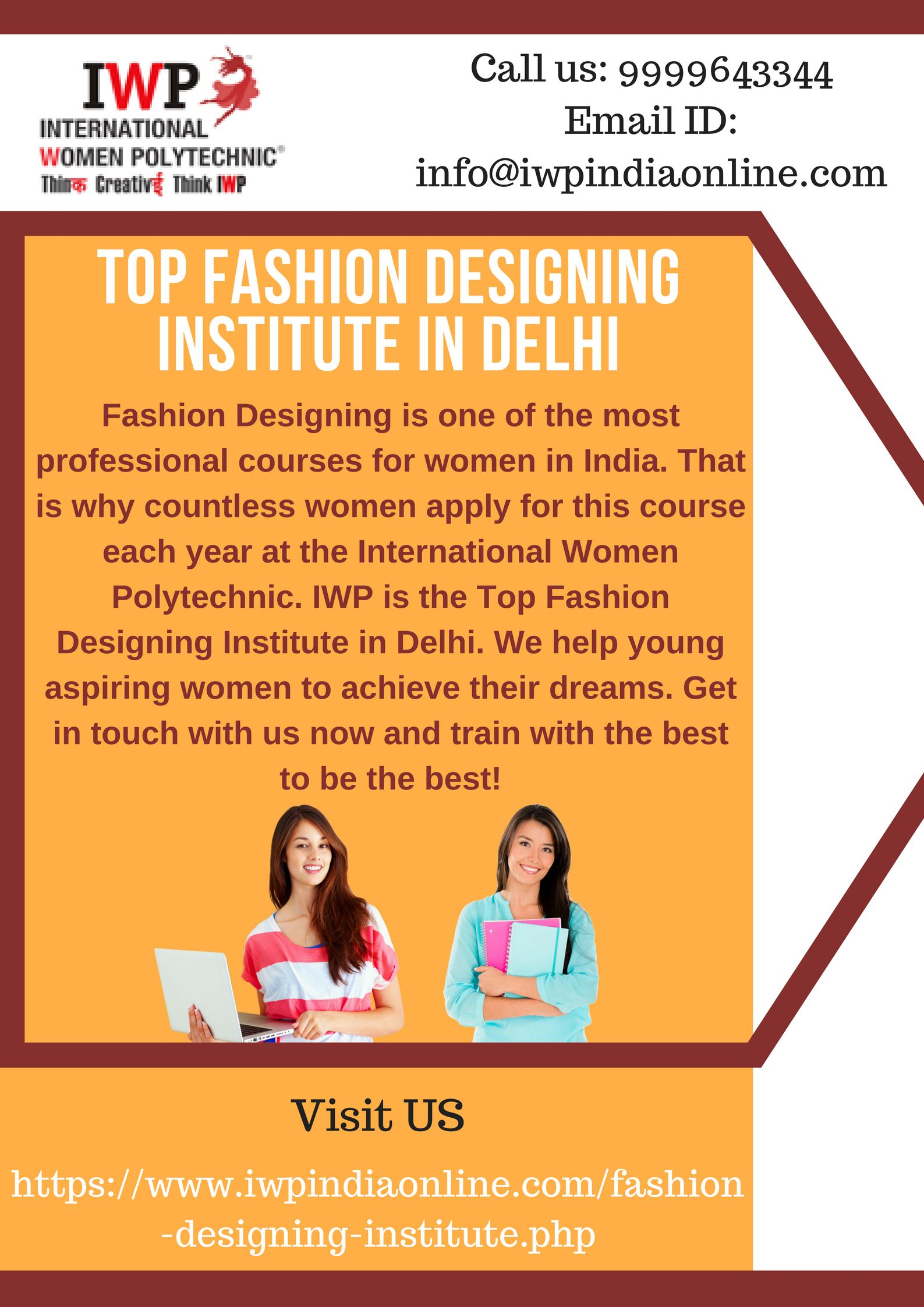 Planning To Make A Career In Fashion Designing International Women Polytechnic Is A Top Fashion Designing Institute Career In Fashion Designing Fashion Design