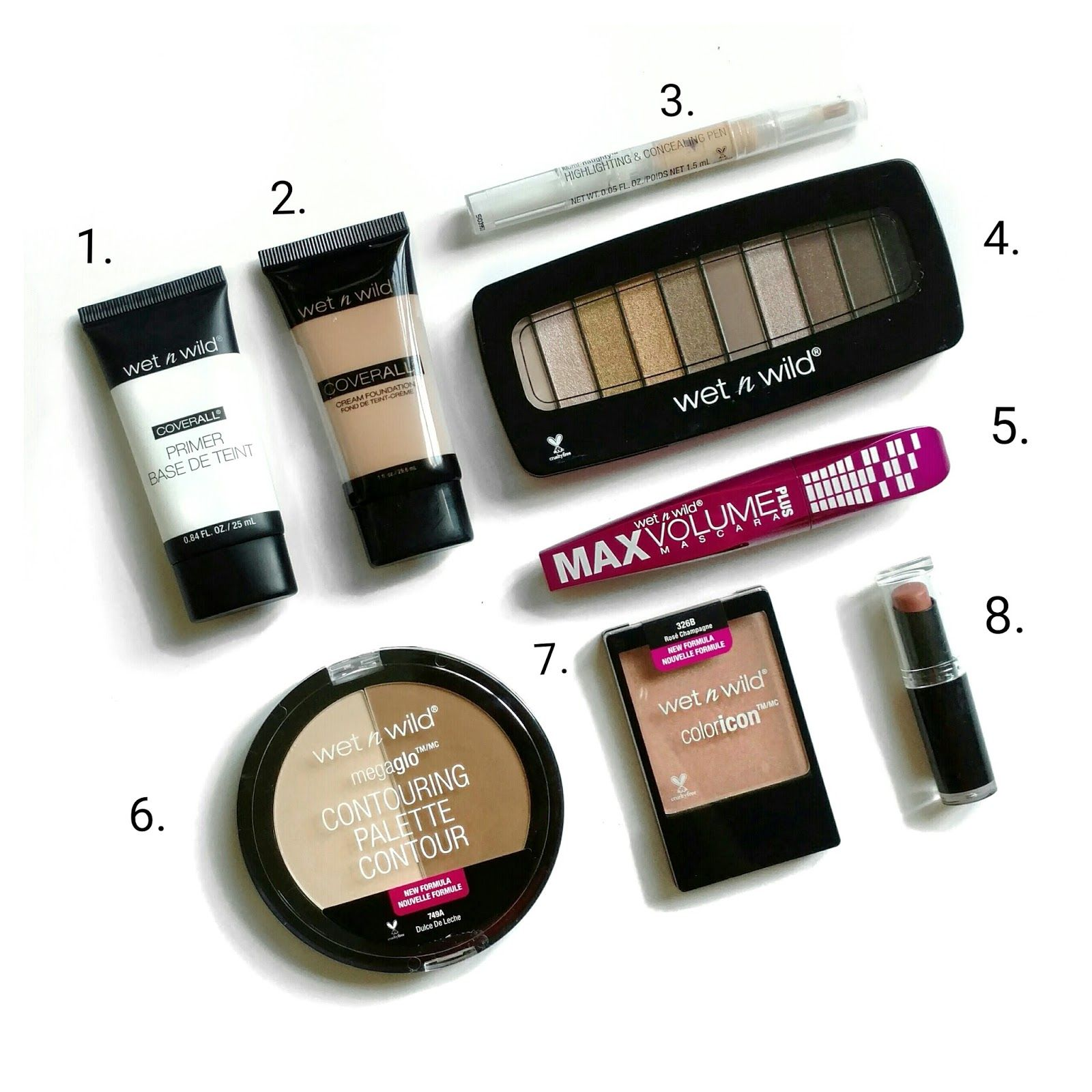 The Budget Beauty Blog Today S Makeup All Wet N Wild