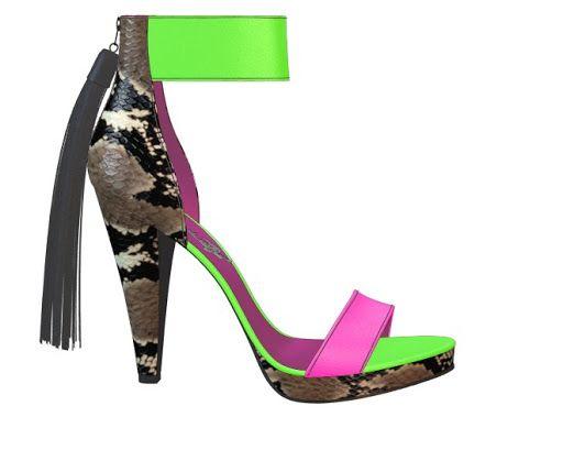 Me encanta este diseño personalizado de Shoes of Prey! Diseña tu par de zapatos perfecto ahora mismo en internet|| shoesofprey.es