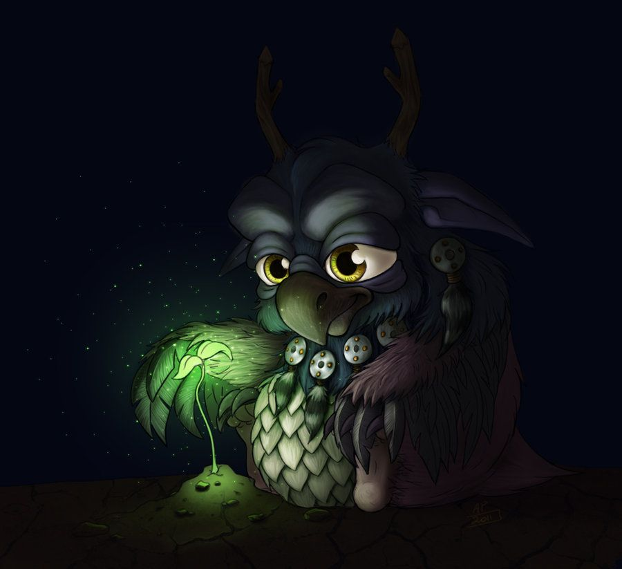 A new beginning. World of Warcraft. Moo kin. by chipie2485