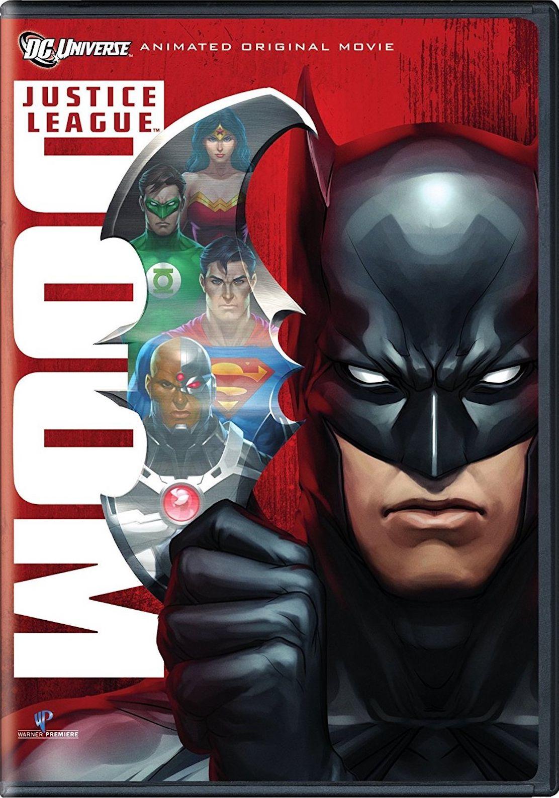 Justice League Doom Dvd Justice League Animated Movies Justice League Doom Justice League Animated