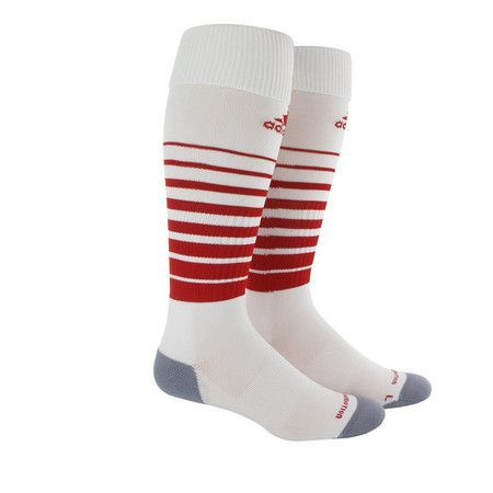 Adidas Team Speed Sock White Red Soccer Socks Socks Soccer Accessories