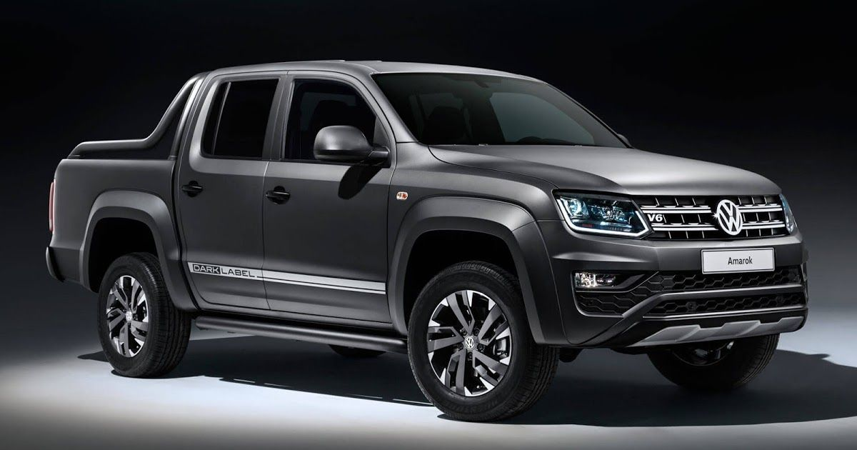Vw Welcomes New Amarok Limited Edition To The Dark Label Side Carscoops Vw Amarok Commercial Vehicle Volkswagen