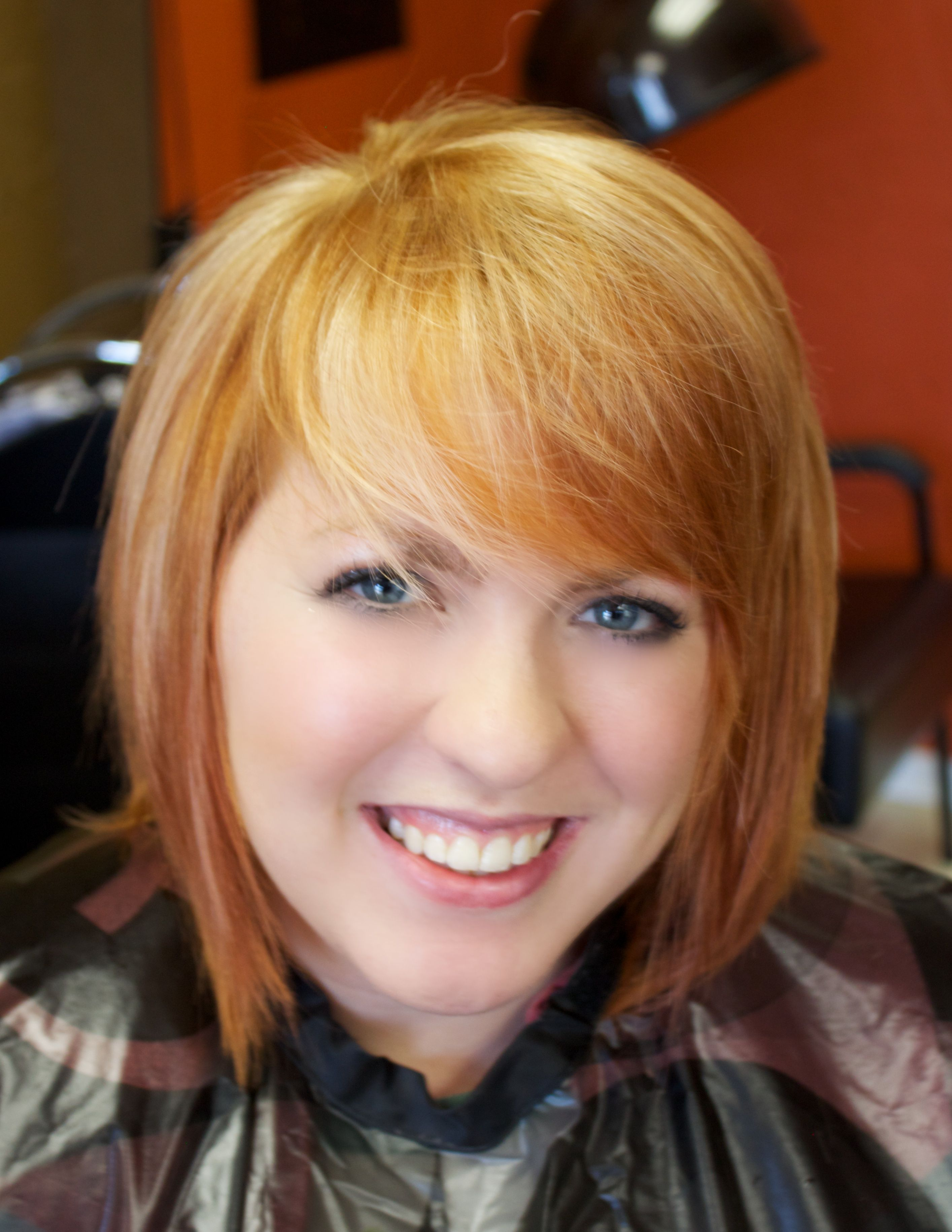 Strawberry blonde hair chart of intense strawberry blonde with