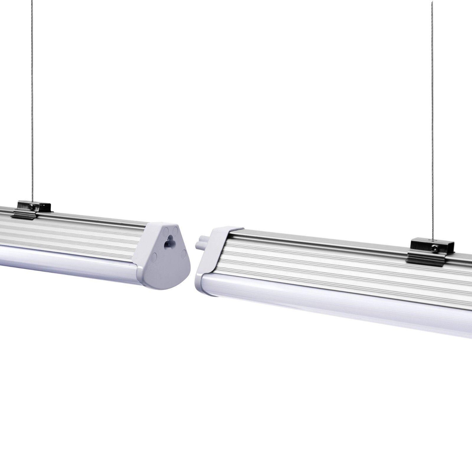 Led Linear Hallenleuchte Tube Rohre Leuchte 40w 60w Wannenleuchte Lichtleiste Ebay Led Lichtleiste Wanne