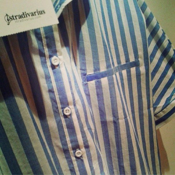Camisa cuello polo oversize Stradivarius.  Ref.2105/122 http://instagram.com/marialonsorguez
