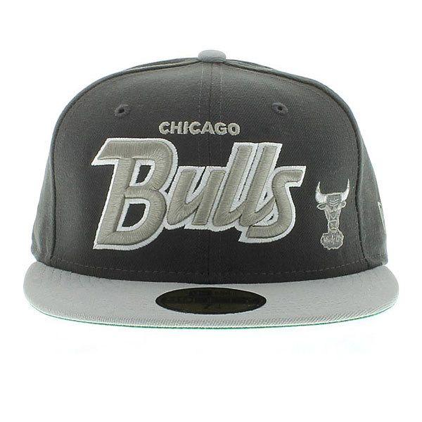 Chicago Bulls Hat For Jordan XI Cool Grey (Green Under) 59fifty New Era Caps 01558739e7e8