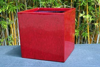 50cm Sq Lightweight Eco cube planter