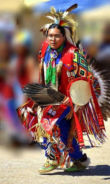 Native American Dancer More