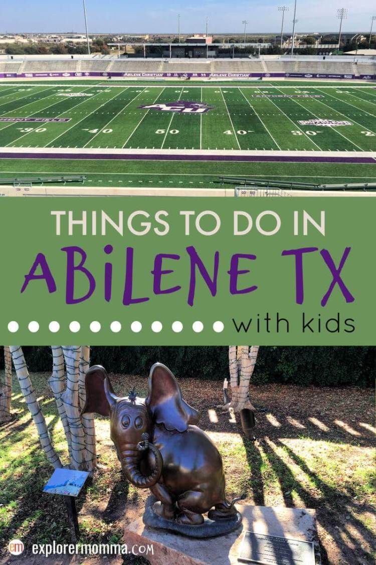 Top Things To Do In Abilene Tx Travel Usa North America Travel Family Travel Destinations