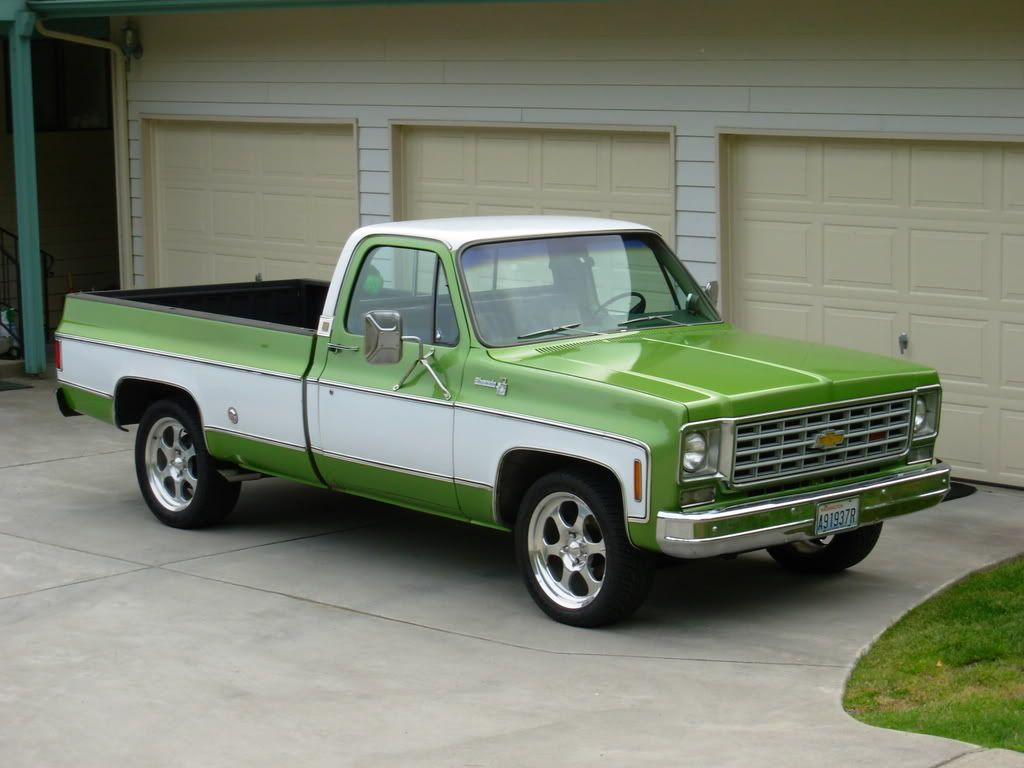 1975 Chevy With Images Chevy Pickup Trucks Classic Chevy Trucks