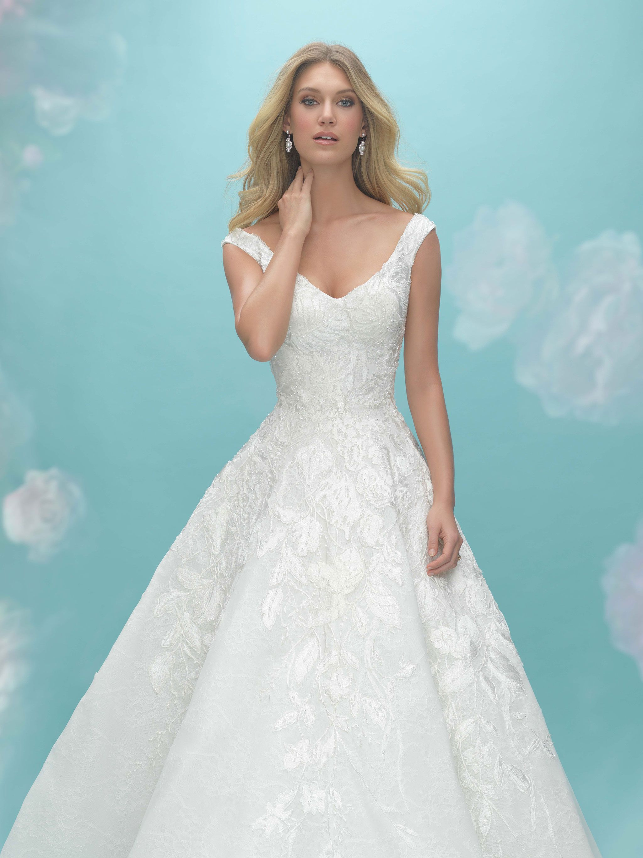 Allure Bridal Style 9475 | Wedding: Bridal Gowns | Pinterest ...