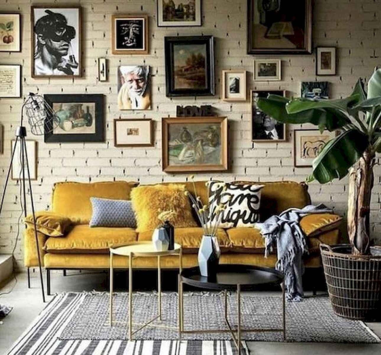 80 Stunning Colorful Living Room Decor Ideas And Remodel For Summer Project In 2020 Vintage Living Room Decor Eclectic Living Room Living Room Decor Colors