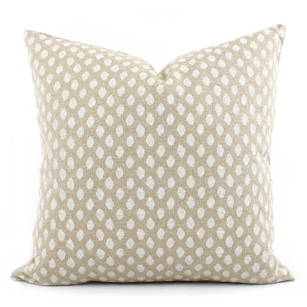 Dune Sand Pillow Cover Cream Pillows Throw Pillows Pillows
