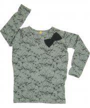 Iglo grey allover bunny print PomPom dress