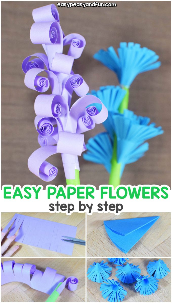 Best Of Easy Paper Flowers Making Step By And View