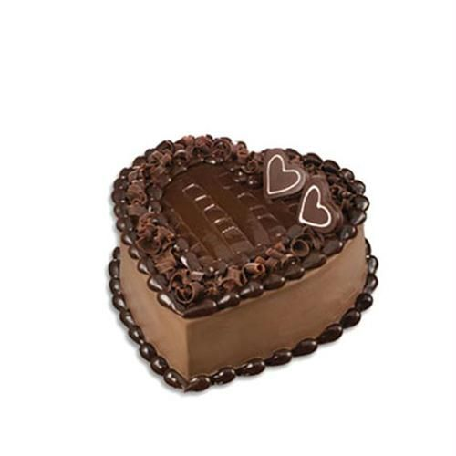 Flowery Chocolate Cake Cake 16170 Birthday Heart Chocolate Cake Flower And Cake Jpg 25th Birthday Cakes Cake Chocolate Cake Decoration