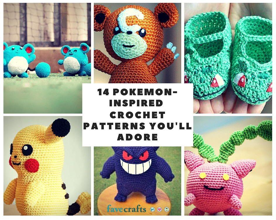 17 Pokemon Crochet Patterns Youll Adore Pokmon Crochet And Patterns