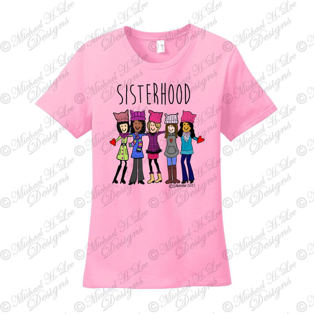 87115fb408b Excited to share the latest addition to my  etsy shop  Sisterhood T-Shirt